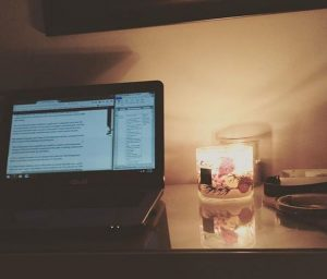 how to bring hygge to the office this winter candle tea fresh air pnw