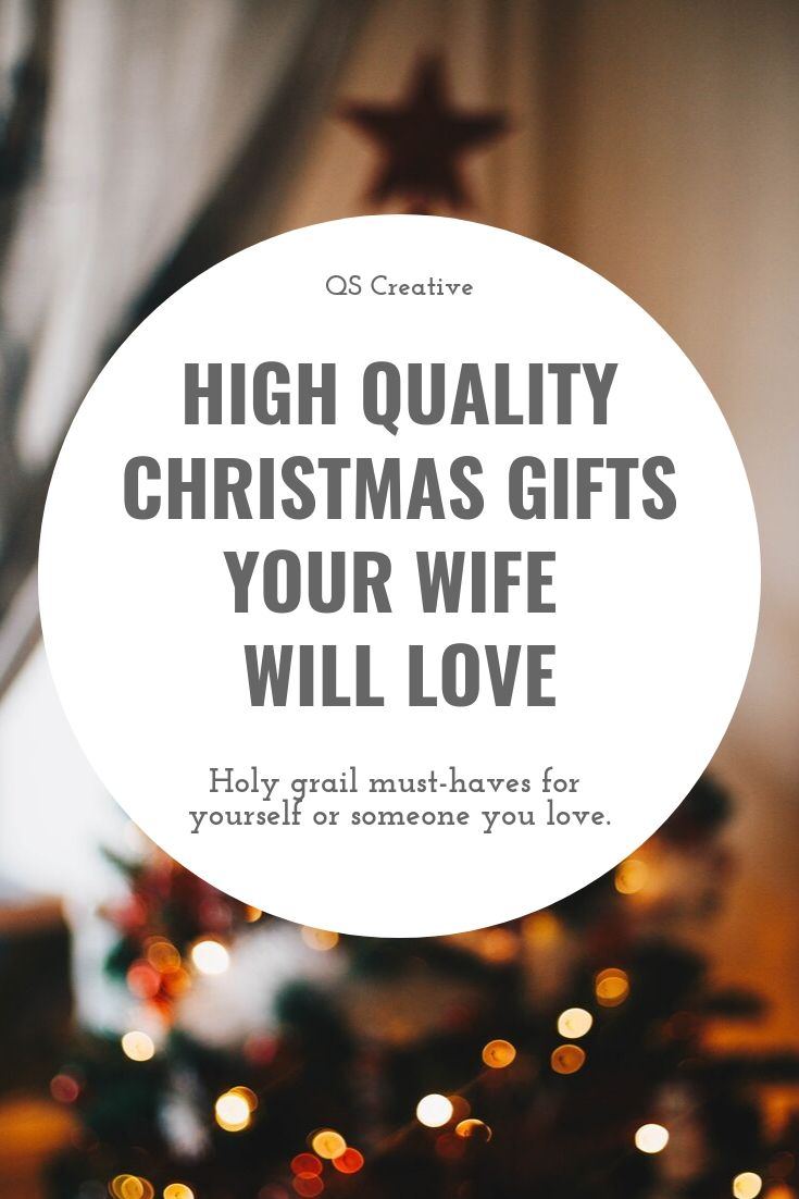 Quality Gifts for the person who has everything. Our holy grail high quality gift ideas