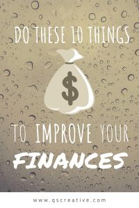 10 Simple Things You Can Do Right Now to Improve your Financial Situation