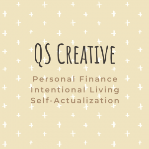 QS Creative logo Personal Finance Intentional Living Self-Actualization